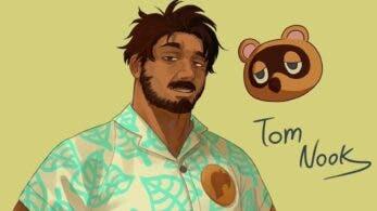 Artista reimagina a los personajes de Animal Crossing como personas