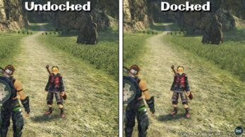 Comparativa de Xenoblade Chronicles: Definitive Edition: modo portátil vs. modo televisión