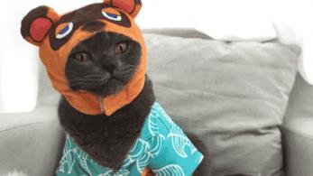 Este merchandise no oficial de Animal Crossing: New Horizons te permite vestir a tu gato como Tom Nook