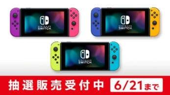 My Nintendo Store Japón lleva a cabo una lotería para poder adquirir una Nintendo Switch