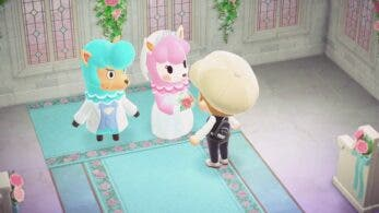 Un vistazo en vídeo al evento de bodas de Animal Crossing: New Horizons