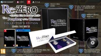 Meridiem Games distribuirá Re:ZERO – The Prophecy of the Throne en España con edición coleccionista incluida