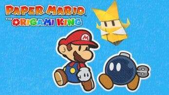 Echa un vistazo a la web actualizada de Paper Mario: The Origami King