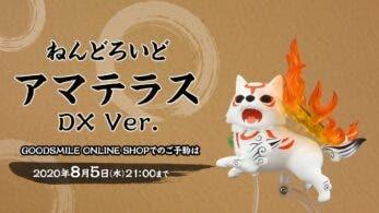 Las versiones estándar y DX de la Nendoroid Amaterasu de Okami ya están disponibles para reservar en Japón