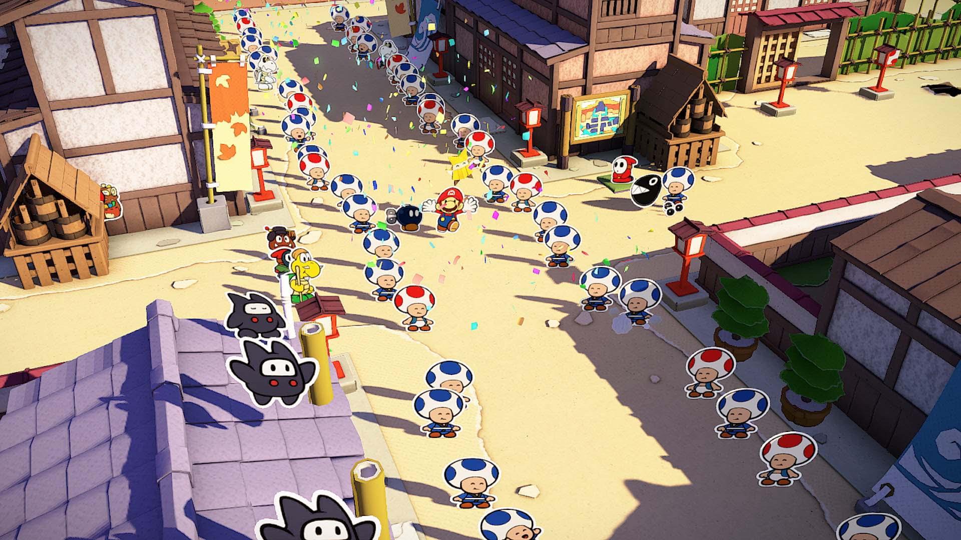 Nuevos tráilers japoneses de Paper Mario: The Origami King