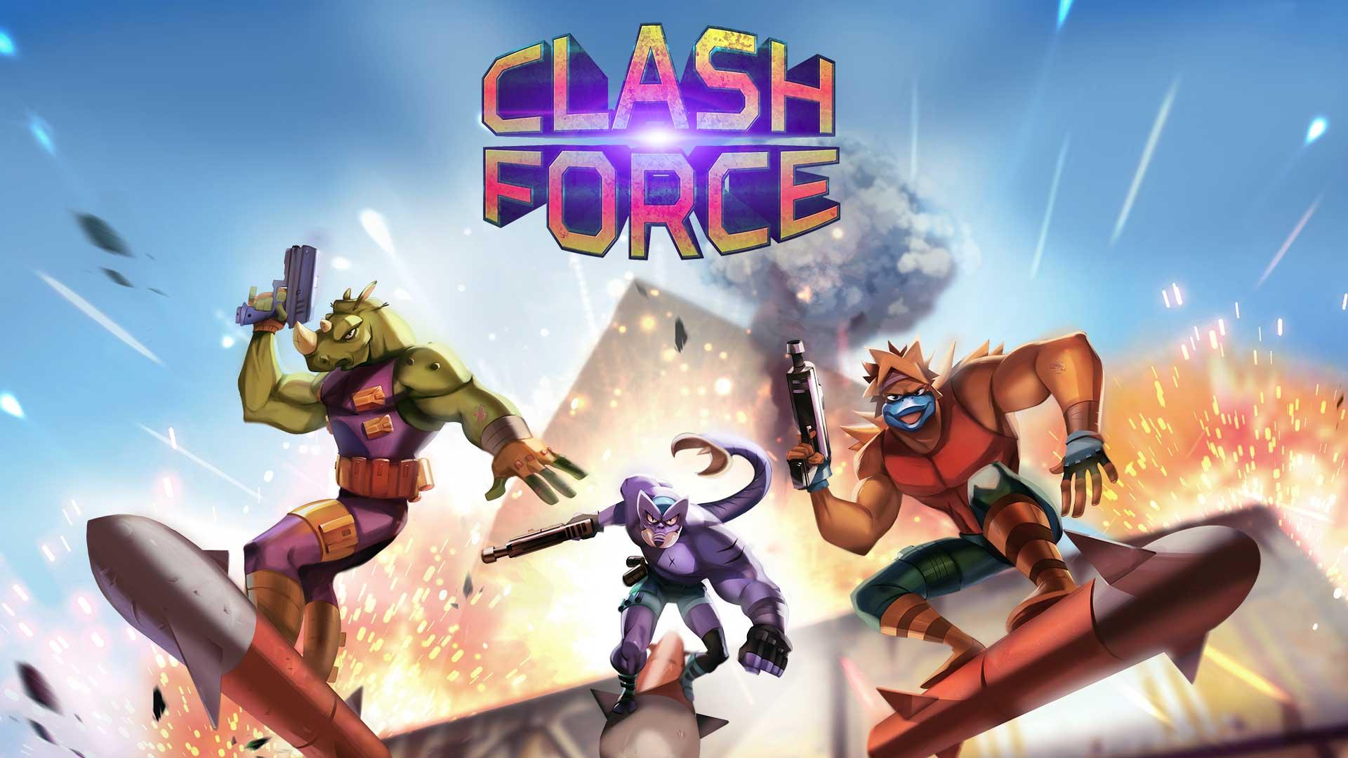 Clash Force queda confirmado para el 3 de julio en Nintendo Switch