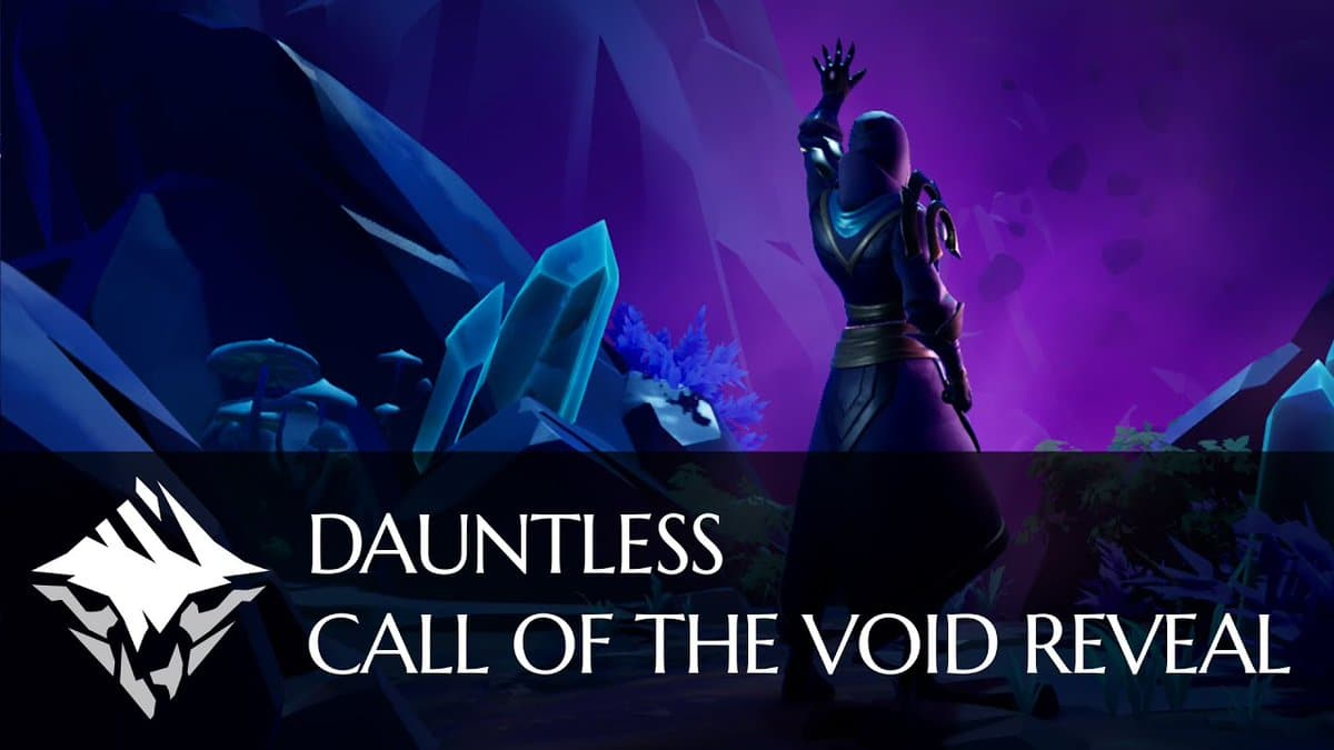 Call of the Void protagoniza este nuevo vídeo de Dauntless