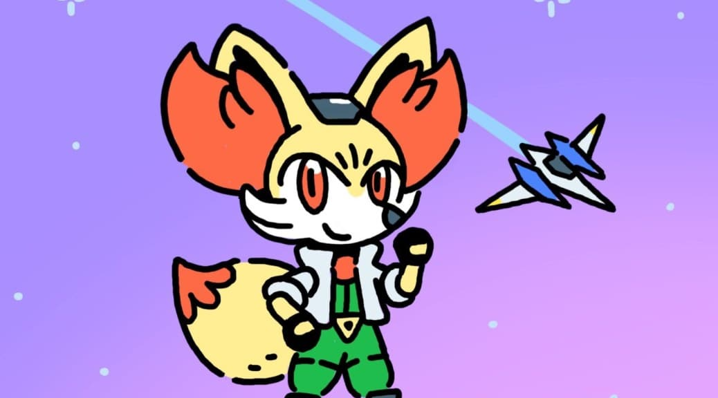 El director artístico de Pokémon Espada y Escudo ha compartido este arte de Fennekin como Fox McCloud