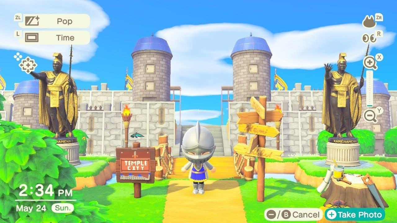 No te pierdas esta isla medieval en Animal Crossing: New Horizons
