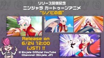 Ninjala detalla el pack de la historia, el DLC, su anime oficial y la primera temporada