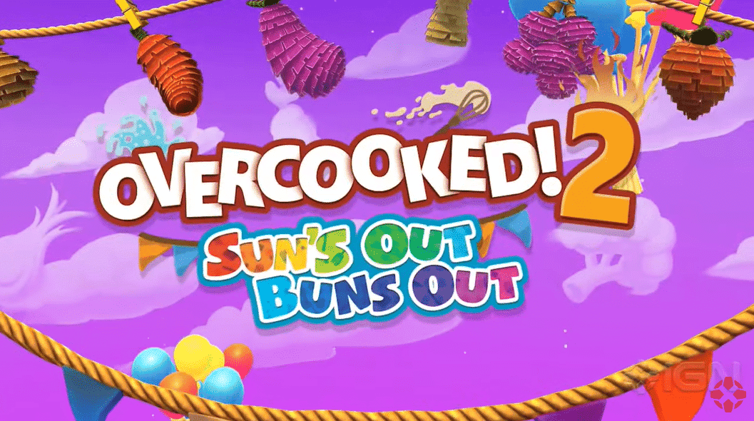 Overcooked! 2 confirma el DLC Sun's Out Buns Out