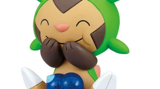 Pokémon con pompones y Pokémon con bayas protagonizan las próximas figuras gacha para Japón
