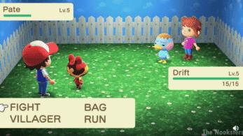Vídeo: Recrean un combate Pokémon en Animal Crossing: New Horizons con vecinos