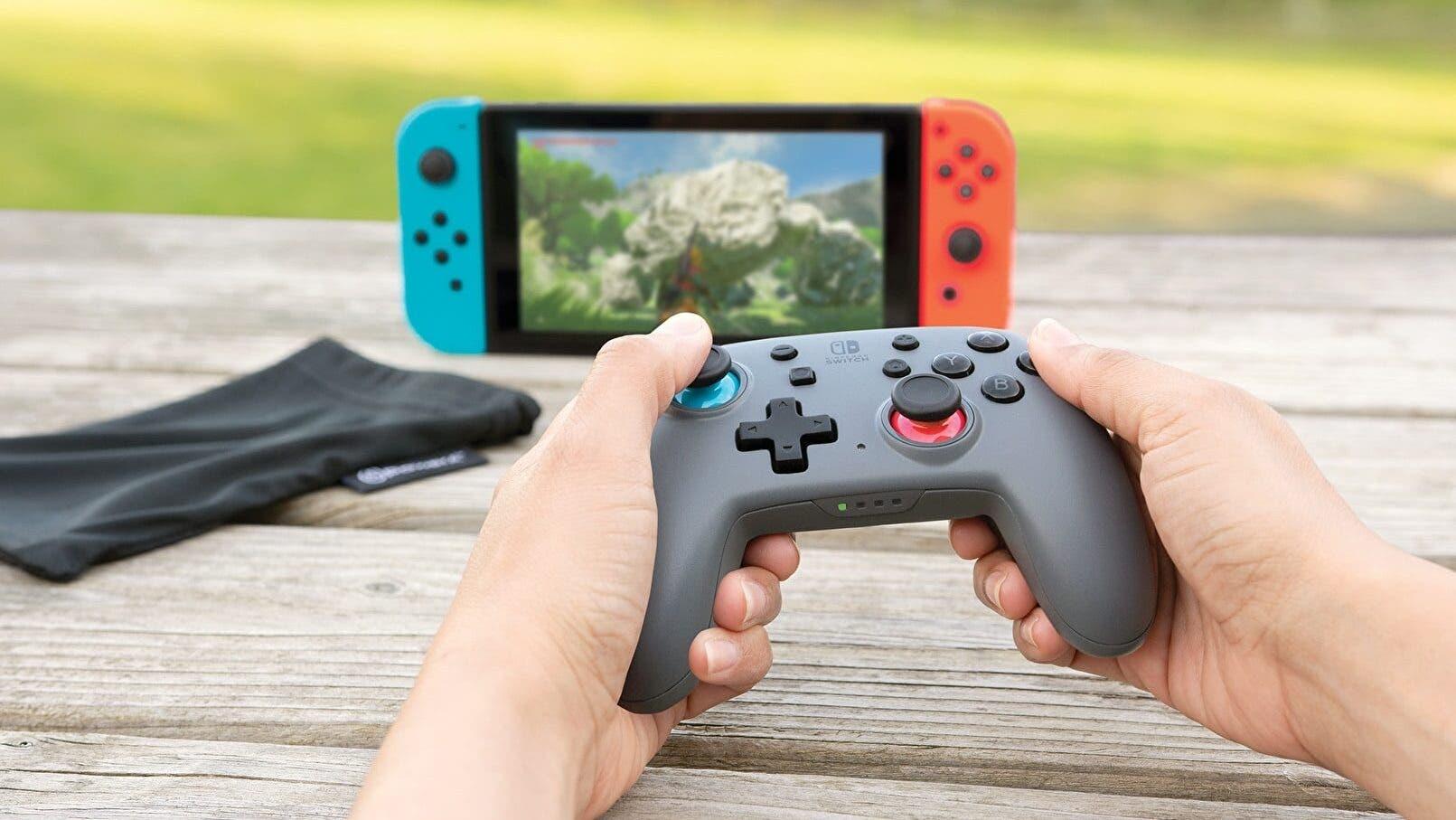 Power A lanzará el Nano Enhanced Wireless Controller para Nintendo Switch este agosto