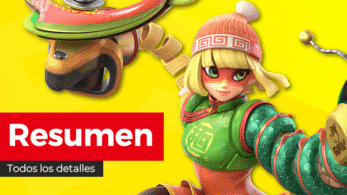 Resumen y diferido completo en español de la presentación de Min Min de ARMS para Super Smash Bros. Ultimate