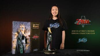 First 4 Figures comparte un unboxing de su figura Midna Real de The Legend of Zelda: Twilight Princess