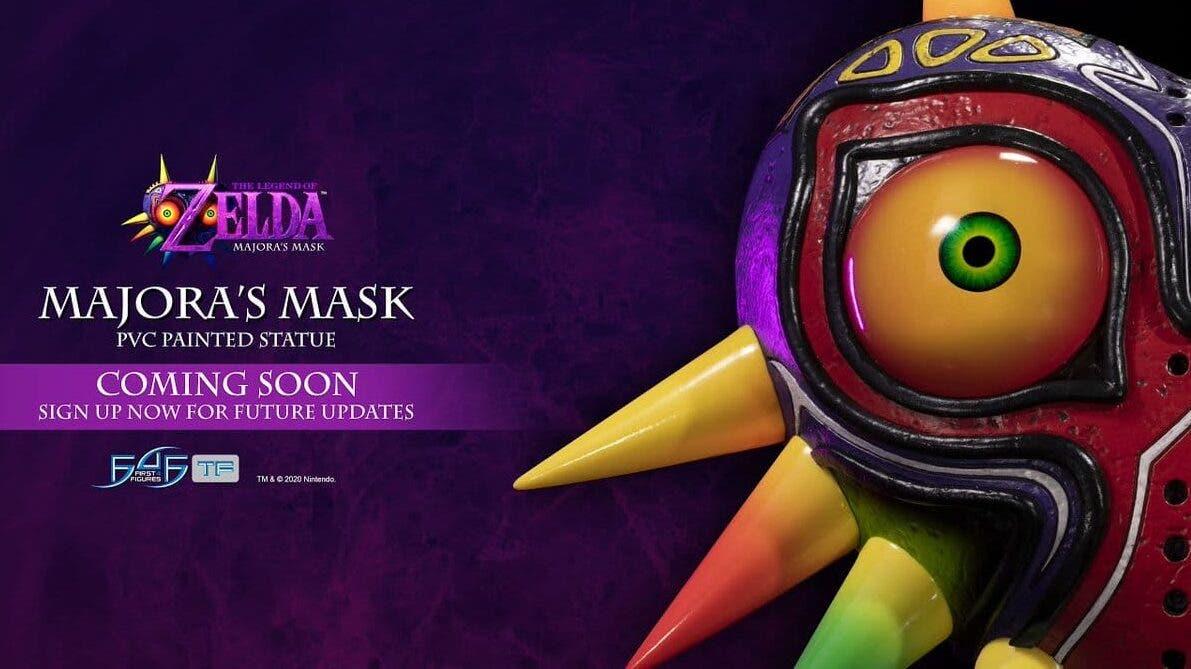 First 4 Figures comparte un primer vistazo en vídeo a la estatua de la máscara de The Legend of Zelda: Majora's Mask