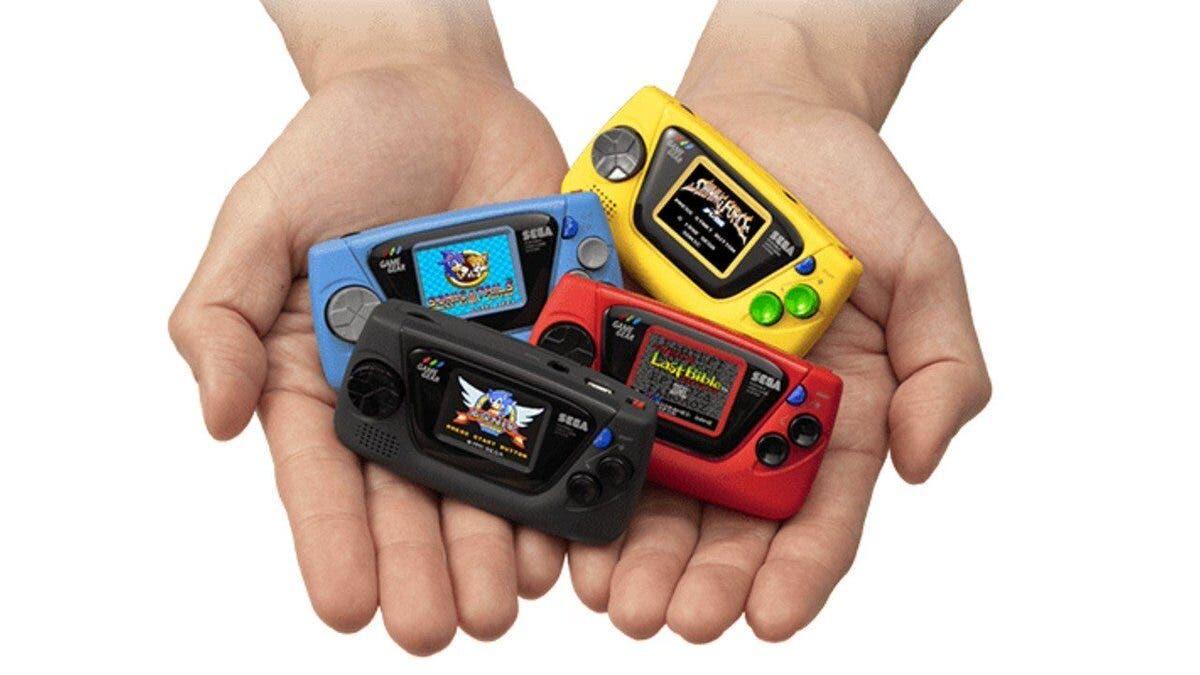 Game Gear Micro originalmente iba a tener un solo un juego en cada pack