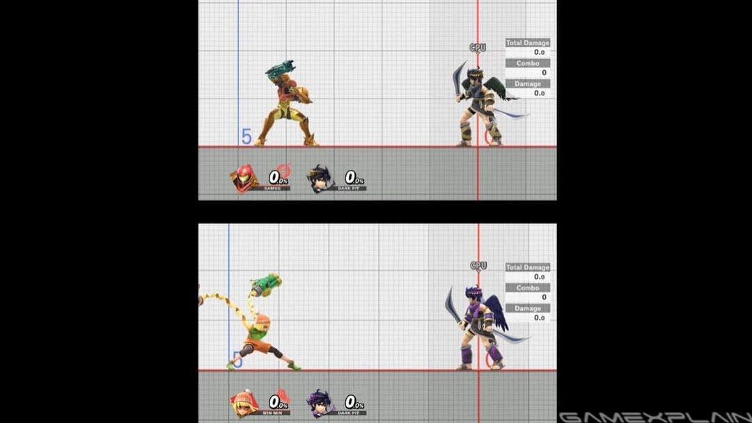 Este vídeo compara el alcance de Min Min con otros luchadores de Super Smash Bros. Ultimate