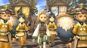Se comparten nuevas capturas de pantalla y artes de Final Fantasy Crystal Chronicles Remastered para Nintendo Switch