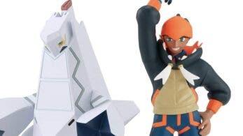 Observa en detalle las figuras de Roy y Duraludon de la colección Pokémon Scale World
