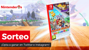 ¡Sorteamos una copia física o digital de Paper Mario: The Origami King para Nintendo Switch!