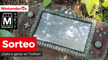 ¡Sorteamos esta Nintendo Switch Lite personalizada por MakoMod!