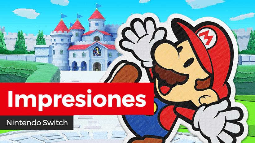[Impresiones] Paper Mario: The Origami King para Nintendo Switch