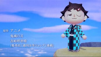 Un fan recrea el opening de Demon Slayer en Animal Crossing: New Horizons