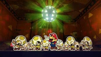 Paper Mario: The Origami King: batallas, lucha contra mini jefe, caza de Toads y nuevo comercial
