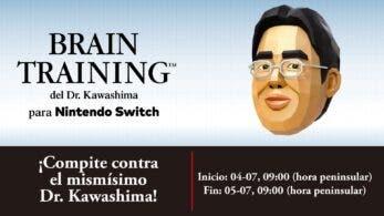 Enfréntate al mismísimo Dr. Kawashima este fin de semana en el campeonato mundial de Brain Training del Dr. Kawashima para Nintendo Switch