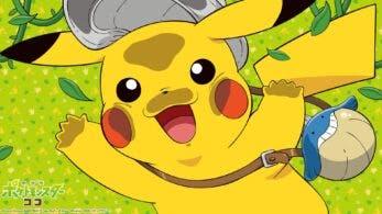 Se comparten fondos de pantalla oficiales de la película Pokémon Coco protagonizados por Pikachu