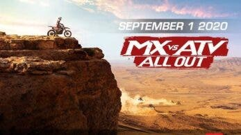 Anunciado MX vs. ATV All Out para Nintendo Switch: disponible el 1 de septiembre