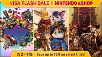NIS America lanza descuentos temporales de hasta el 75% en la eShop de Nintendo Switch, 3DS y Wii U