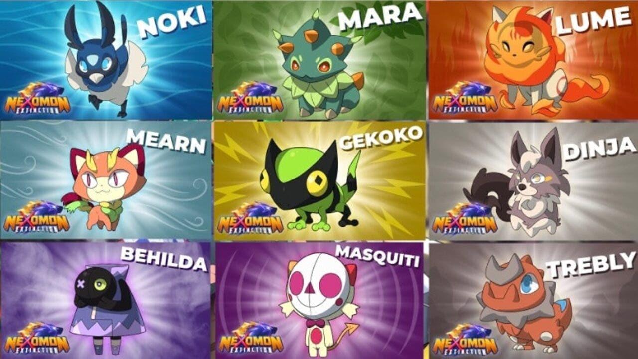 mucha variedad al jugar Nexomon: Extinction jugar