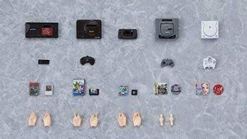La compañía Max Factory anuncia estas réplicas en miniatura de consolas SEGA compatibles con las figuras Figma