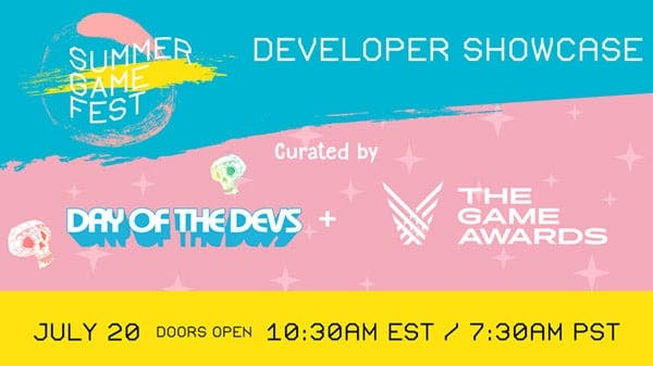 Nuevos detalles del Developer Showcase del Summer Game Fest 2020 previsto para el 20 de julio