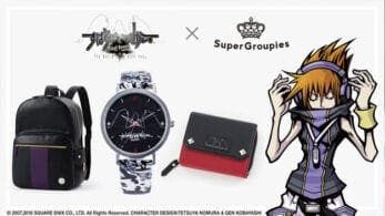 The World Ends With You revela su nueva línea de merchandising