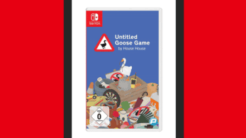 Así luce el boxart de Untitled Goose Game para Nintendo Switch