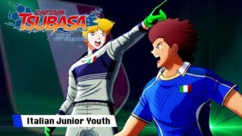 La Italy Junior Youth protagoniza este nuevo tráiler de Captain Tsubasa: Rise of New Champions