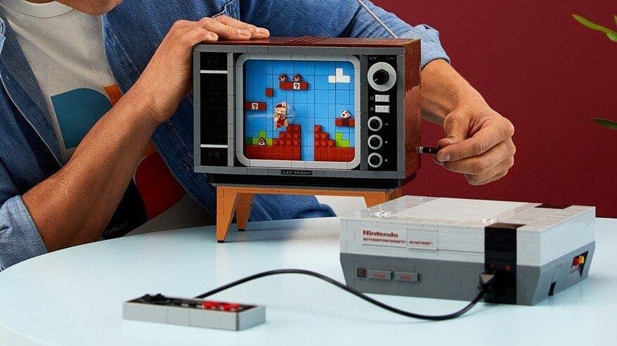 El set de LEGO de NES oculta un genial Easter Egg de Super Mario Bros.