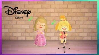 Este vídeo nos muestra a Canela cantando multitud de canciones de Disney en Animal Crossing: New Horizons