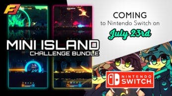 Mini Island Challenge Bundle se lanza este 23 de julio en Nintendo Switch