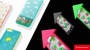 La My Nintendo Store europea vuelve a ofrecer fundas para iPhone de Splatoon y Animal Crossing