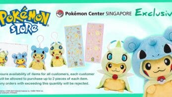 Pokémon Center Singapur cumple un año y lo celebra con estos productos exclusivos