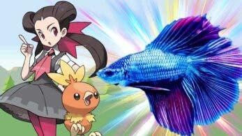 Este pez mascota ya ha superado dos gimnasios de Pokémon Rubí