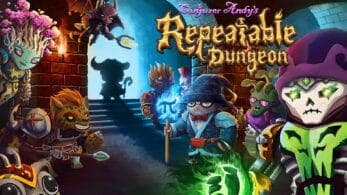 Conjurer Andy's Repeatable Dungeon ha sido lanzado en Nintendo Switch