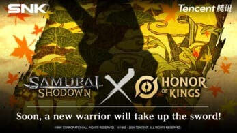 Samurai Shodown confirma un personaje DLC gratuito de Honor of Kings