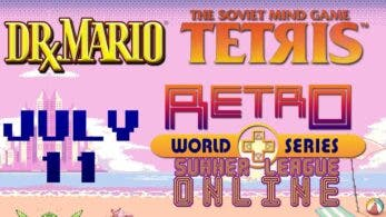 Retro World Series acogerá a Dr. Mario y Tetris en el torneo Summer League Online el 11 de julio