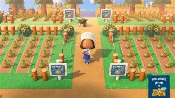 Hellmann's nos anima a participar en un evento benéfico dentro de Animal Crossing: New Horizons